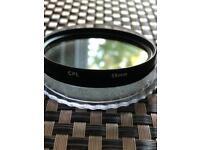 58mm lens filter
