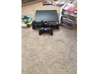 PS3 bundle includes slim console, games and controllers