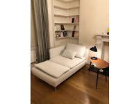 IKEA SÖDERHAMN longue sofa