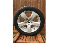 """BMW Original E60 17"""" Alloy with Goodyear Run-Flat tyre 225/50R17 - 4 available"""