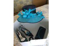 Jacques vert hat, shoes (size 39), bag