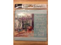 New Sentiment Tea Towels Words of wisdom for the Kitchen Ref 16
