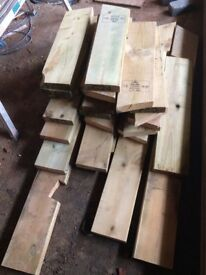 Timber C24 small and large pieces