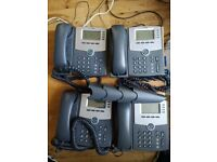 4 cisco spa504g phones, cannot be used in domestic landline phone