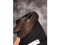Versace leather men's size 9