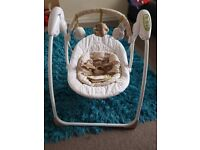"""Mother care """"loved so much"""" baby swing. Suitable from newborn. Smoke and pet free home"""
