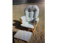 Cream baby feeding chair