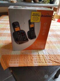 Binatone Symphony 3325 Twin cordless Telephone