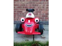 6volt electric ride on rory racing car excellent condition and working order ideal Xmas present