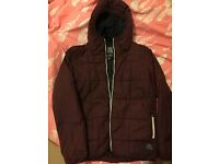 Jack and Jones Jacket - Waterproof - Size M - Dark Red