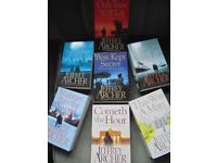 Complete set of the Clifton Chronicles- Jeffrey Archer