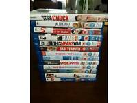 12 Blu Rays & 1 DVD films all for sale!