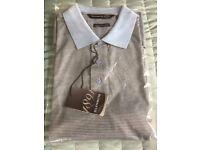 Men's Golf Polo Shirt Size Large