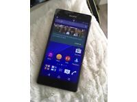 ***New*** SONY XPERIA Z3 MOBILE PHONE FULL SIZE NOT COMPACT 64Gb SD CARD