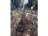 3 wheel sack barrow