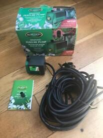 New Blagdon Pond Water Feature Pump MF550