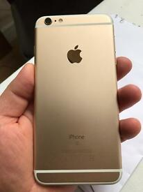 iPhone 6s plus gold unlocked