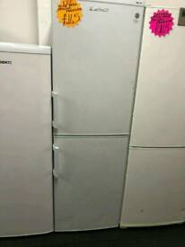 LEC 70^30 FROST FREE FRIDGE FREEZER IN WHITE