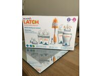 Brand new in box Latch bottle starter set