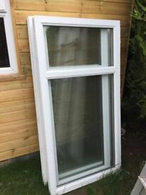 UPVC double glazed windows - ideal for shed garage summerhouse garden project