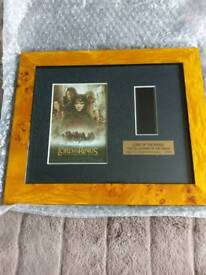 Lord of the rings film cell pictures