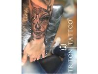TATTOO ARTIST £35 Hourly rate. Professional LONDON SURREY KENT