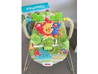Fisher Price Rainforest Vibrating Bouncy Chair