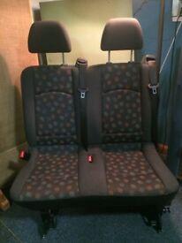 Mercedes Vito Rear Seats 2 + 1