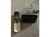 Panasonic single dect cordless telephone KX-TG6811EB