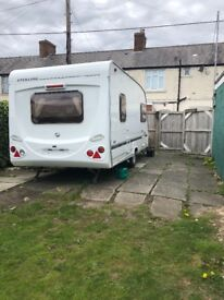 Sterling europa caravan 2006 5 berth excellent condition owned from new.