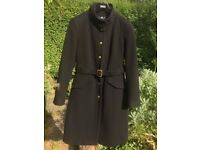 Women's Coat - Size 8 (As New) Wool Blend with Cashmere (Smoke-free & pet-free home)