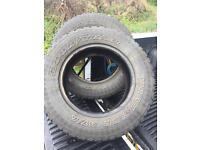 Good year tyres 215 / 70 r16 4x4