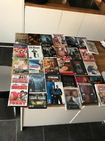 Over 45 DVd's