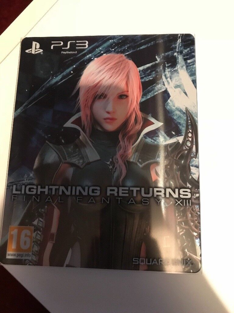 Final fantasy steelbook for ps3