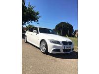 BMW 3 SERIES 3.0 325D M Sport LCI, PROF.SAT NAV, BLACK LEATHER, LOW MILEAGE