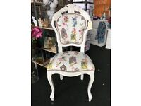 VINTAGE FRENCH STYLE PAINTED CHAIR