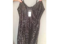 Brand new Black Sparkly New look dress, size 10, £10