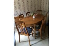 Dining Room Table and Chairs and Sideboard in Peterborough