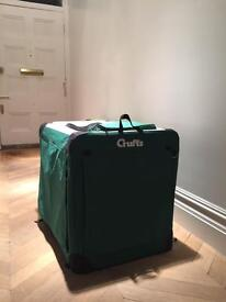 Crufts collapsible dog crate - unused