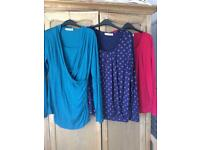 Maternity/nursing tops from Jojo Maman Bebe size medium