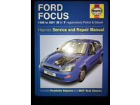 Haynes Ford Focus 1998-2001 (S-Y Registration)