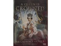A Queen is Crowned DVD new and sealed