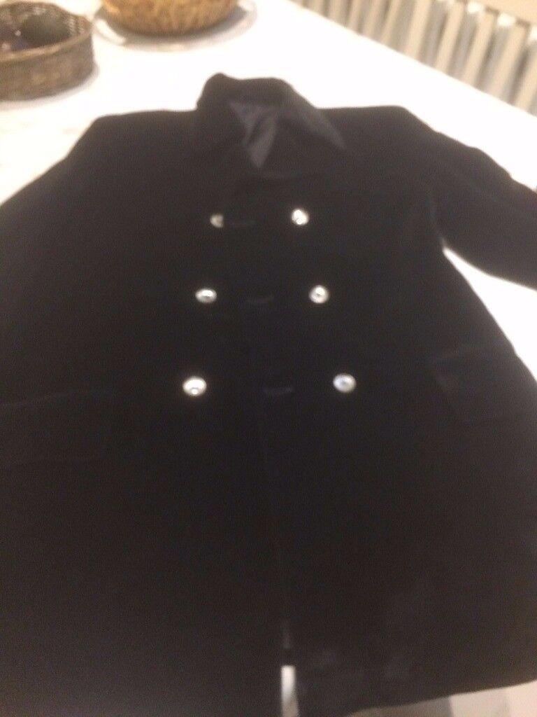 Men's Black Velvet Vintage Jacket