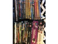 Collection of over 30 dvds ( a lot unopened )