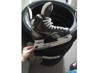 reebok ice hockey skates 9ks pump size 5
