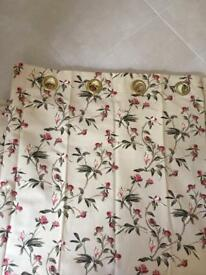 Curtains patterned 120x54