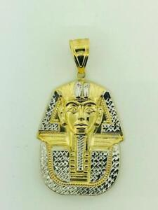 10kt Yellow Gold Pharaon Pendant