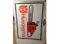 Chainsaw sighn
