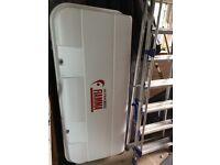 Fiamma Ultra Back Box, fits on Fiamma bike rack, keys & fittings, w145cmxh70cmxD38 £175cm,
