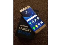 Samsung Galaxy S7 Edge Gold 32GB Unlocked Faulty